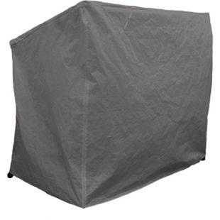 Grasekamp Schutzhülle Hollywoodschaukel  Gartenschaukel - 210D Oxford Gewebe -  mit 2 Reißverschlüssen Schwarz - Bild 1