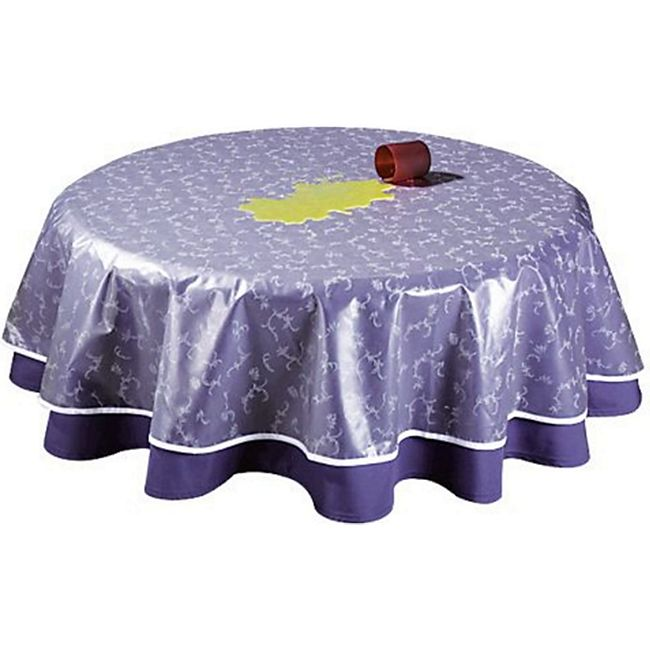 Grasekamp Tischdeckenschoner PVC Folie 130x180cm  Oval - Bild 1