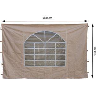 Grasekamp 2 Seitenteile 300x193cm zu Sahara  3x3m Sichtschutz Sonnenschutz Windschutz - Bild 1