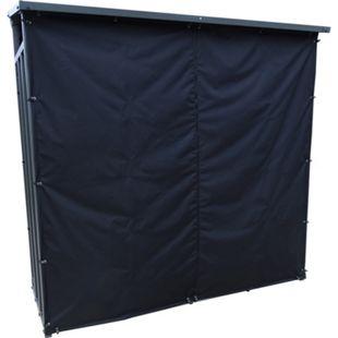 Grasekamp Kaminholzunterstand XL 200 x 70 x 195 cm mit Wetterschutz Set Kaminholzregal Kamin Holzofen Regal - Bild 1