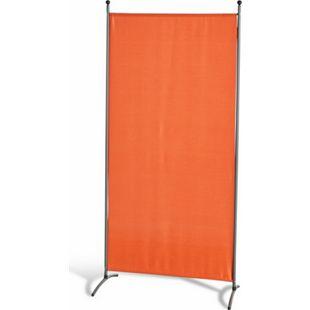 Grasekamp Stellwand 85 x 180 cm - Terrakotta -  Paravent Raumteiler Trennwand  Sichtschutz - Bild 1