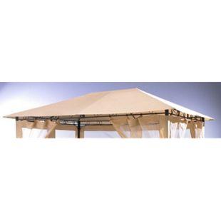 Grasekamp Universal Ersatzdach 293 x 390 cm Beige  Plane Bezug Baldachin Pavillon - Bild 1