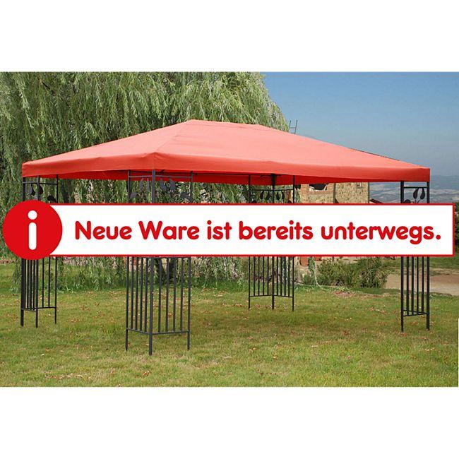 Grasekamp Blätter-Pavillon 3x4m - Terrakotta - Bild 1
