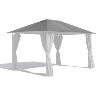 Grasekamp Ersatzdach 3x4m Gartenpavillon Nizza  Grau Pavillon Partyzelt - Bild 1
