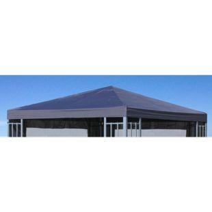 Grasekamp Ersatzdach Aluoptik Pavillon 3x3m  Anthrazit Ersatzbezug Ersatzplane  Rankpavillon - Bild 1