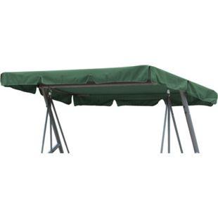 Grasekamp Ersatzdach Universal Hollywoodschaukel  Grün Ersatz-Bezug Sonnendach Dachplane - Bild 1