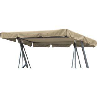 Grasekamp Ersatzdach Universal Hollywoodschaukel  Beige Ersatz-Bezug Sonnendach Dachplane - Bild 1