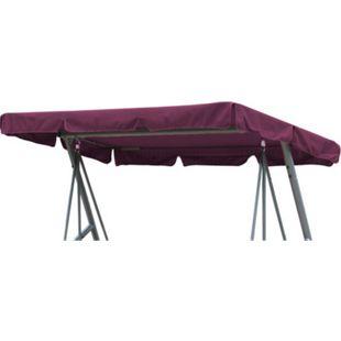 Grasekamp Ersatzdach Universal Hollywoodschaukel  Bordeaux Ersatz-Bezug Sonnendach  Dachplane - Bild 1