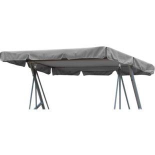 Grasekamp Ersatzdach Universal Hollywoodschaukel  Grau Ersatz-Bezug Sonnendach Dachplane - Bild 1