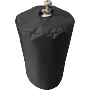 Grasekamp Schutzhülle Gasflasche 11 kg Gasgrill  Camping Plane Schutzhaube Polyester  Schwarz 300D - Bild 1