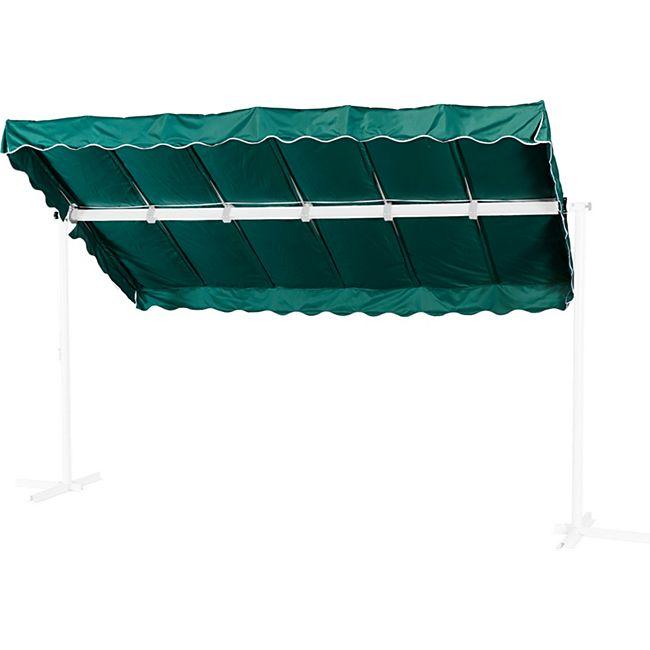 Grasekamp Ersatzdach Standmarkise Dubai Grün  Raffmarkise Ziehharmonika Mobile Markise - Bild 1