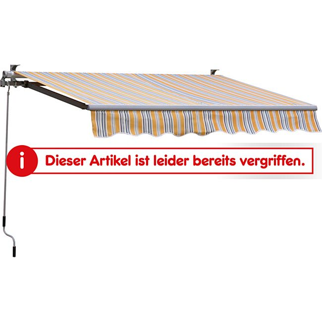 Grasekamp Gelenkarm Markise 250x150cm Sonnensegel