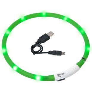 Karlie Visio Light LED Schlauchhalsband für Hunde - grün