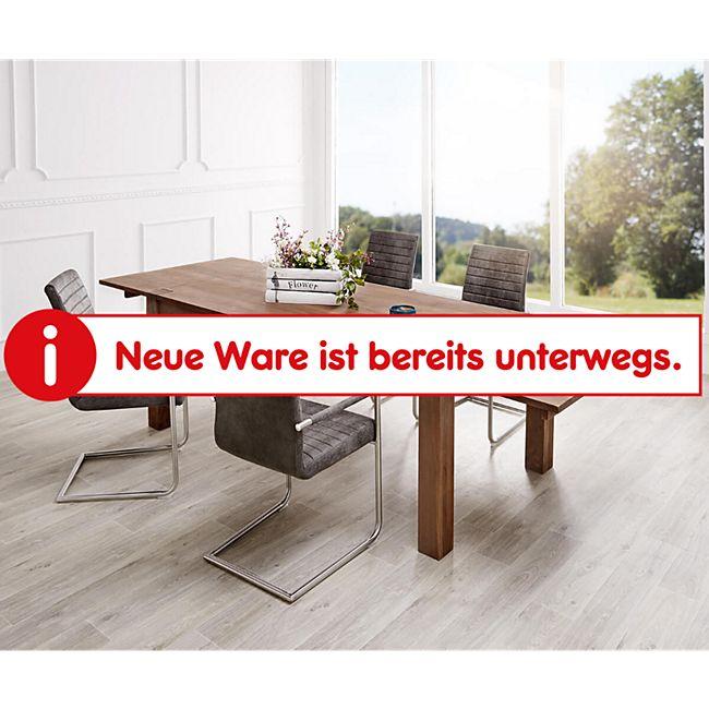 Esszimmertisch Indra Akazie Braun 200/300x100 cm Massivholz ausziehbar Esstisch - Bild 1
