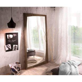 Spiegel Wyatt Akazie Braun 200x100 cm Design Wandspiegel - Bild 1