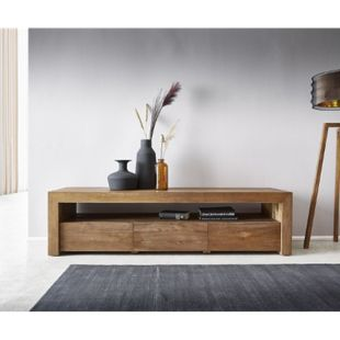 TV-Board Bahan 185x55x48 cm Teak Lowboard - Bild 1