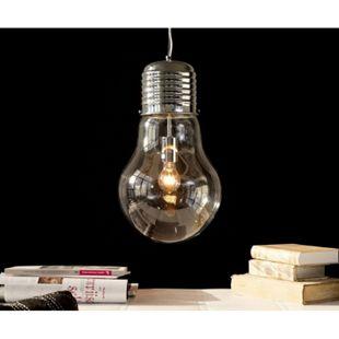 Leuchte Bulb Deluxe Transparent 30 cm Glühbirne Hängeleuchte - Bild 1