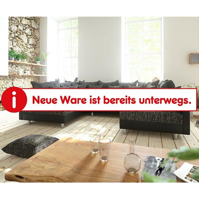 Couch Clovis Schwarz Wohnlandschaft modulares Sofa aus Modulsystem - Bild 1