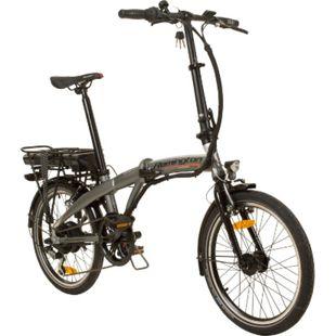 Remington Urban Folder 20 Zoll E-Bike Pedelec Klapprad StVZO Faltrad 7... silber