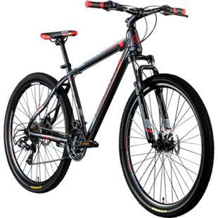 Galano Toxic 29 Zoll Mountainbike Hardtail MTB Fahrrad Scheibenbremsen Shimano Tourney... schwarz/rot - Bild 1