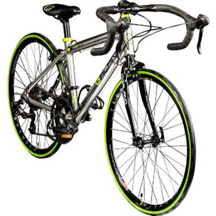 Galano Vuelta STI 24 Zoll Rennrad Jugendliche Jugendfahrrad 14 Gang... silber, 35.5 cm - Bild 1