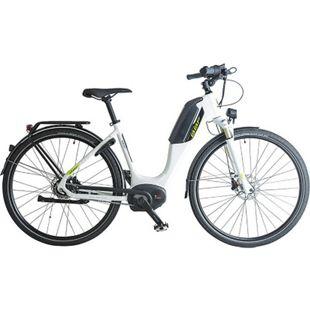 BBF Lausanne 700c E-Bike Damenrad Pedelec 28 Zoll Elektrofahrrad Hollandrad 8 Gang Bosch... weiß, 53 cm - Bild 1