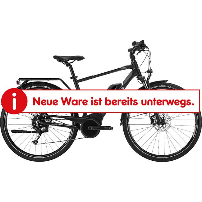 Atala B-Tour Man 700c E-Bike E Trekkingrad 28 Zoll Pedelec Bosch Tourenrad... 54 cm, schwarz/ultralight/anthrazit - Bild 1