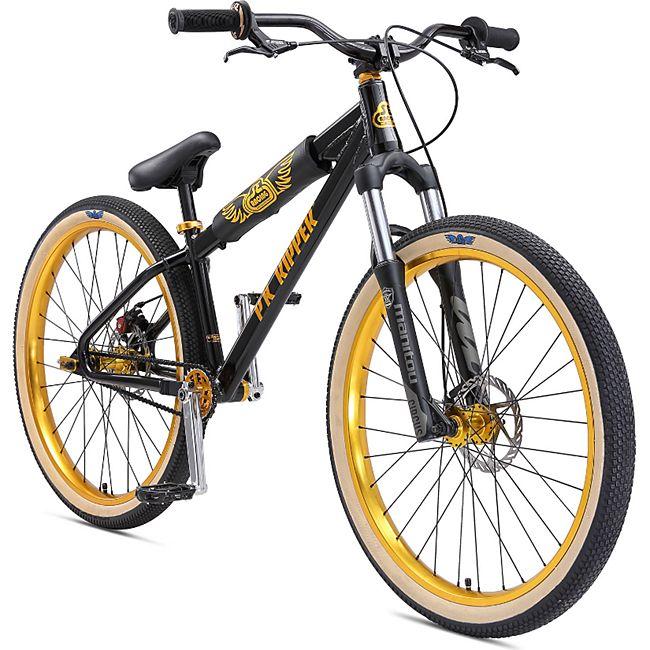 SE Bikes DJ Ripper HD 2020 26 Zoll BMX Rad Fahrrad BMX Cruiser Bike Oldschool Dirt Jump... schwarz, 33 cm - Bild 1