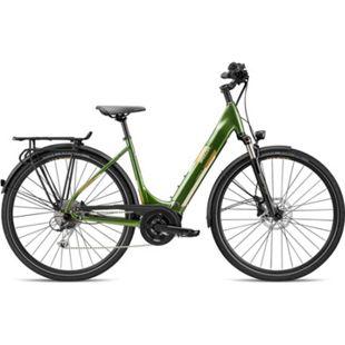 Breezer Powertrip Evo 1.5+ LS 700c E-Bike Damenrad 28 Zoll Pedelec Damen Senioren Elektrofahrrad... 50 cm, grün/messing - Bild 1