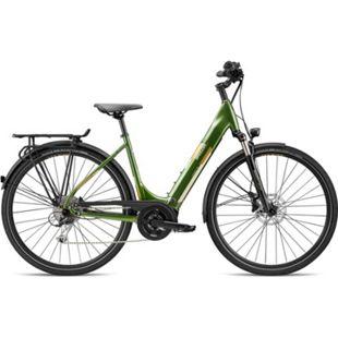 Breezer Powertrip Evo 1.5+ LS 700c E-Bike Damenrad 28 Zoll Pedelec Damen Senioren Elektrofahrrad... 55 cm, grün/messing - Bild 1