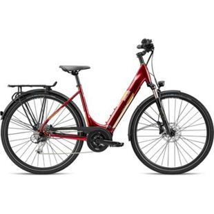 Breezer Powertrip Evo 1.5+ LS 700c E-Bike Damenrad 28 Zoll Pedelec Damen Senioren Elektrofahrrad... 55 cm, dunkelrot - Bild 1