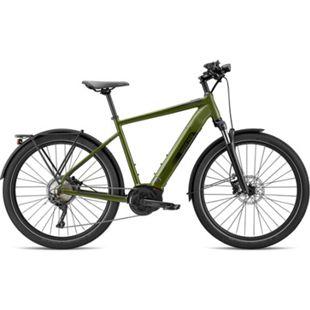 Breezer Powerwolf Evo SM 650B E-Bike Mountainbike 27,5 Zoll All Terrain Bike Pedelec Elektrofahrrad... 43 cm, dunkelgrün - Bild 1