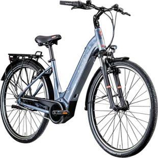 Zündapp Z909 700c E-Bike E Citybike 28 Zoll Pedelec Bosch Stadtrad Hollandrad... 46 cm, grau - Bild 1