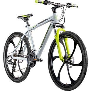 "Galano Blast 26 Zoll MTB Hardtail Mountainbike Fahrrad 26"" Rad 21 Gang Bike... 46 cm, grau/grün - Bild 1"