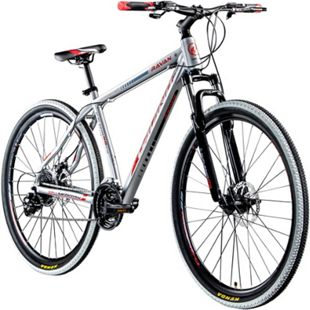 Galano Ravan 29 Zoll Mountainbike MTB Hardtail Fahrrad 24 Gänge Bike 3 Farben... 48 cm, silber - Bild 1