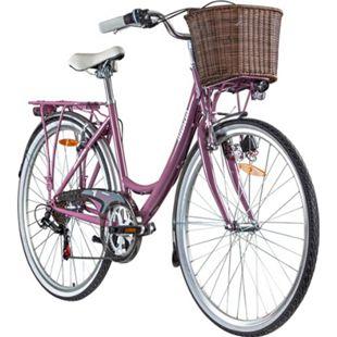 Galano Valencia 700c Damenfahrrad Hollandrad 28 Zoll 6 Gang Citybike Stadt Fahrrad... 40 cm, beere - Bild 1