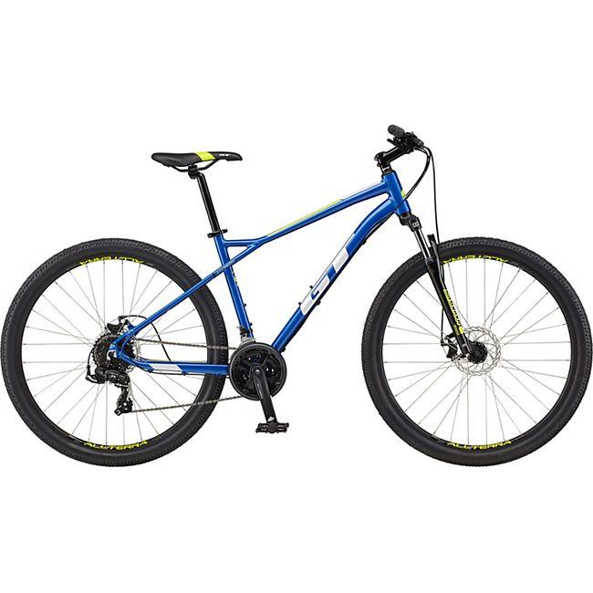 GT Aggressor Sport 27,5 Zoll Mountainbike Hardtail MTB Fahrrad 650B Mountain Bike... blau, 46 cm - Bild 1