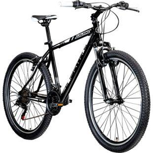 Galano Path 26 Zoll Mountainbike Hardtail MTB Fahrrad 21 Gang Mountain Bike... 46 cm, schwarz/weiß - Bild 1