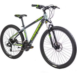 Carrera M7 2000HD 650B Mountainbike 27,5 Zoll Hardtail MTB Fahrrad Mountain Bike... 46 cm, grau/grün - Bild 1