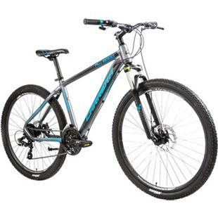 Carrera M7 2000MD 650B Mountainbike 27,5 Zoll Hardtail MTB Fahrrad Mountain Bike... grau/blau, 38 cm - Bild 1