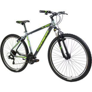 Carrera M9 2000V 29 Zoll Mountainbike 29 Zoll Hardtail MTB Fahrrad Mountain Bike... 43 cm, grau/grün - Bild 1