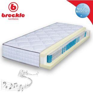 Breckle Sinfonia TFK 1000 Visco Taschenfederkernmatratze Viscoschaum... 120x200 cm   Schlafzimmer > Matratzen > Federkernmatratzen   breckle