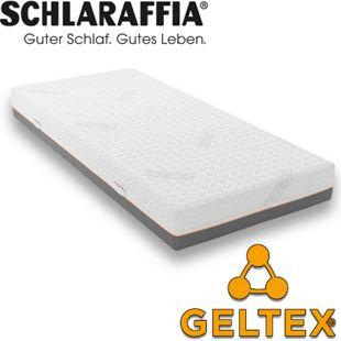 Schlaraffia GELTEX Quantum 200 TFK Taschenfederkern-Matratze & Gelschaum... H2, 90x200 cm - Bild 1