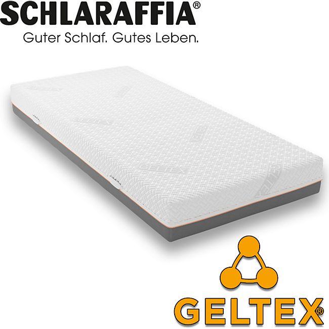 Schlaraffia GELTEX Quantum 200 TFK Taschenfederkern-Matratze & Gelschaum... H2, 100x200 cm - Bild 1