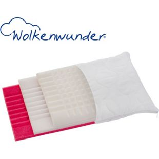 Wolkenwunder® 3-Schicht Nackenstützkissen Klima Plus 40x80 cm - Bild 1