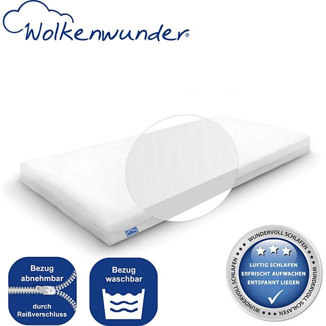 Wolkenwunder Wellflex Multi 7-Zonen-Schaum-Matratze mittel... 60x120 cm - Bild 1