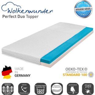 Wolkenwunder Topper Perfect DUO Wendetopper mit Spezial-Kombi-Schaum... 80x200 cm - Bild 1
