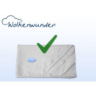 Hygieneauflage Dream Matratzenauflage mit Nässeschutz und 4 Eckgummis Wolkenwunder... 70x140 cm - Bild 1