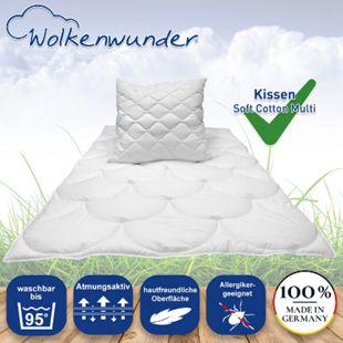 Wolkenwunder Kissen Soft Cotton Multi... 40 x 80 cm - Bild 1