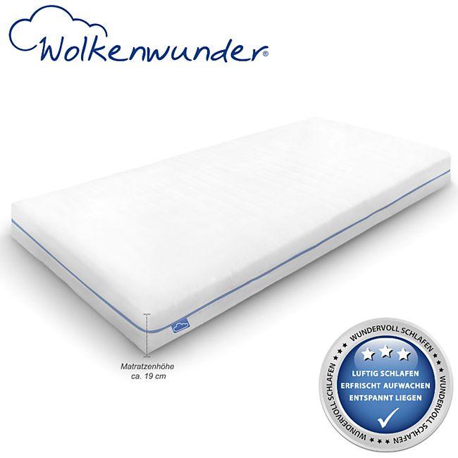 Wolkenwunder Wellflex Maxi 19 cm 7-Zonen-Schaum-Matratze mittel... 90x200 cm - Bild 1